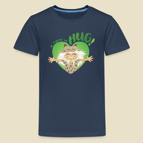Janou t'offre un hug! - T-shirt Premium Ado