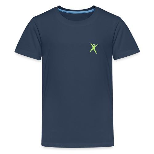 logo_gruen - Teenager Premium T-Shirt