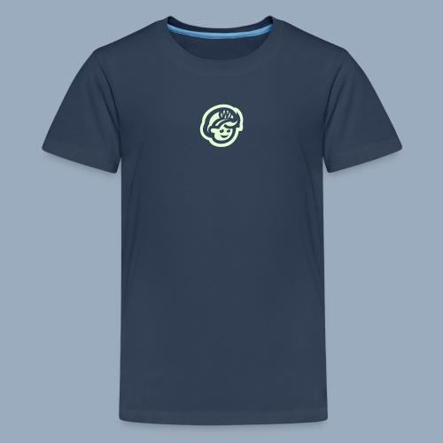 logo bb spreadshirt bb kopfonly inv - Teenage Premium T-Shirt