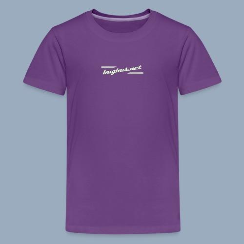 BB LOGO Typo only - Teenage Premium T-Shirt