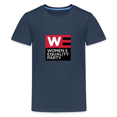 WE_LOGO_RED_CMYK - Teenage Premium T-Shirt