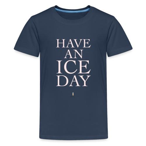 iceday01 png - Teenager Premium T-Shirt
