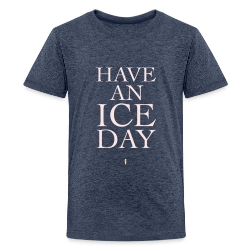 iceday01 png - Teenager Premium T-Shirt
