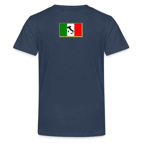 Bandiera Italiana2 - Maglietta Premium per ragazzi