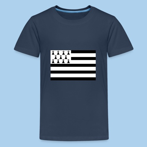 drapeau breton - T-shirt Premium Ado