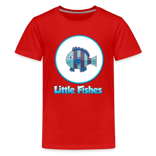 Little Fishes Logo - Teenage Premium T-Shirt