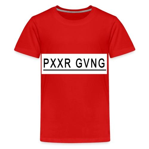 PXXR GVNG - Camiseta premium adolescente