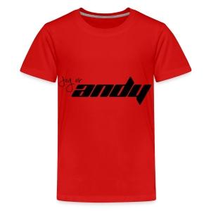 Andy t-shirt - Premium T-skjorte for tenåringer