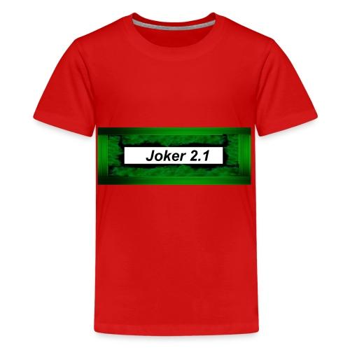 Joker 2 1mode - Teenager Premium T-Shirt