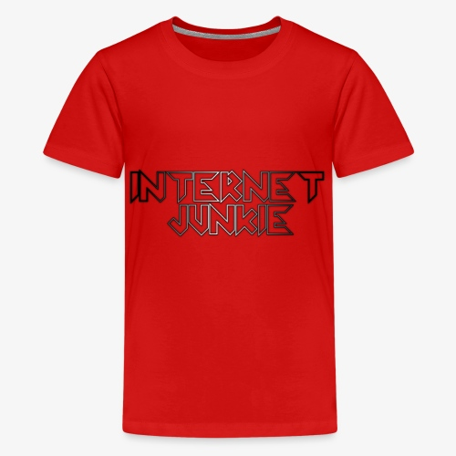 Internet junkie - Teenager Premium T-Shirt