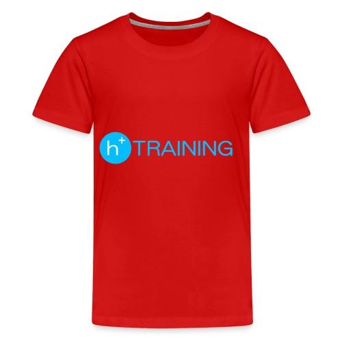 h+ training logo - Teenager Premium T-Shirt