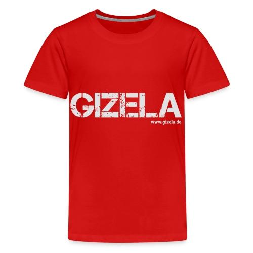 GIZELA white - Teenager Premium T-Shirt