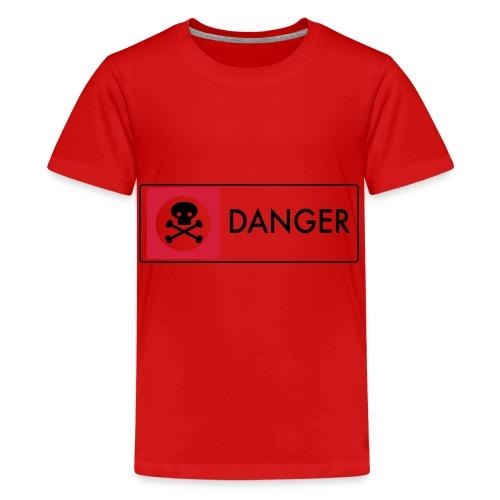Danger - Teenage Premium T-Shirt