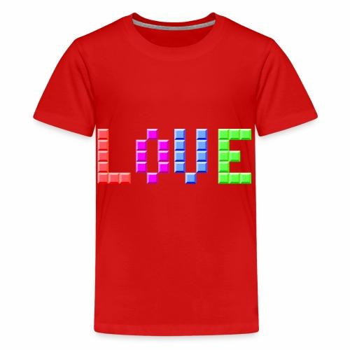 Love Puzzle - Teenager Premium T-Shirt