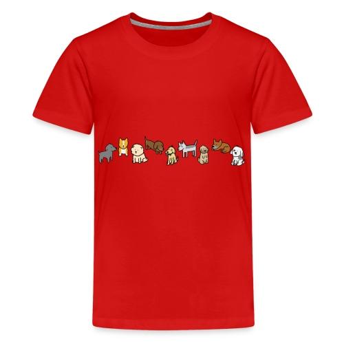 Doggos - Teenage Premium T-Shirt