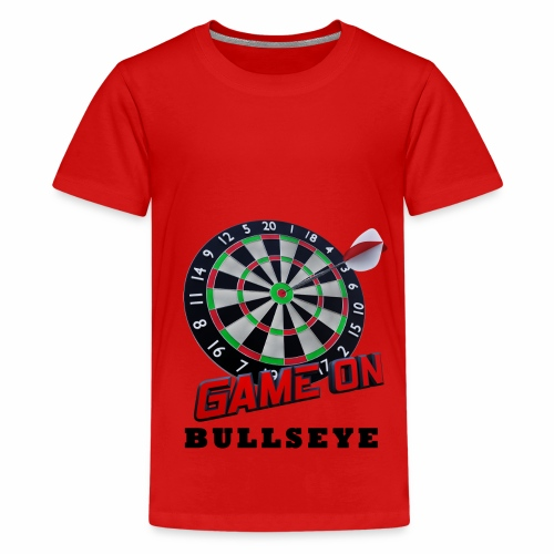 Darts Bullseye Game on - Teenager Premium T-shirt