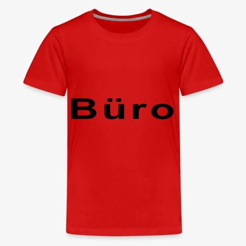 Büro - Teenager Premium T-Shirt