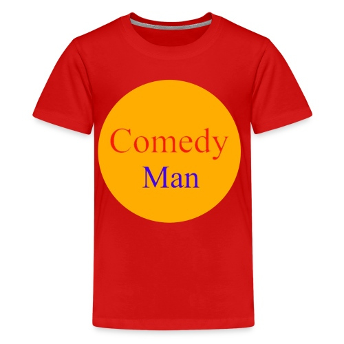 comedy man logo - Teenager Premium T-shirt