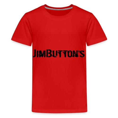 JimButton's Jacke - Teenager Premium T-Shirt