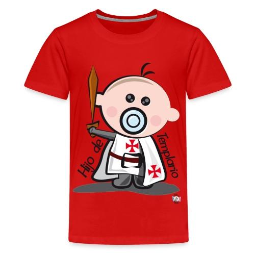 Hijo de templario - Camiseta premium adolescente