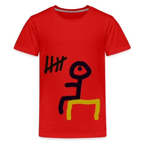 Men in Prison - Teenager Premium T-Shirt