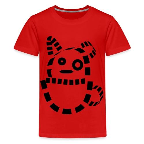 Katze Hund Kätzchen cat süß schmusekatze Geschenk - Teenager Premium T-Shirt