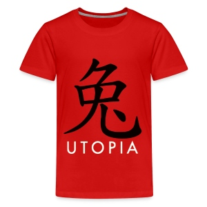 Utopia - Mr. Rabbit - Camiseta premium adolescente