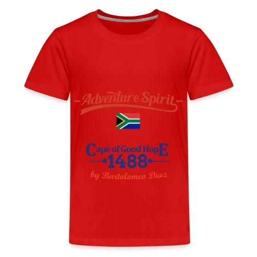 Adventure Spirit South Africa 1488 - Teenager Premium T-Shirt
