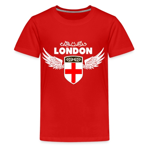 London England - Teenage Premium T-Shirt