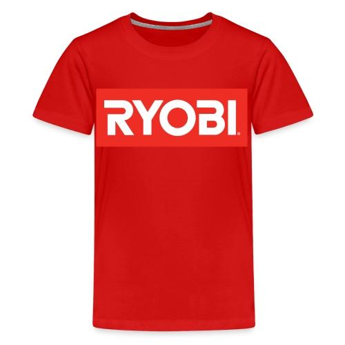 Red Ryobi - Teenage Premium T-Shirt