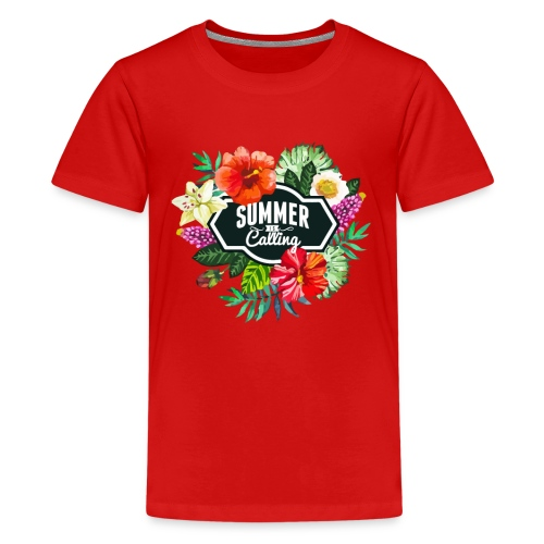 The summer is calling - Teenager Premium T-Shirt