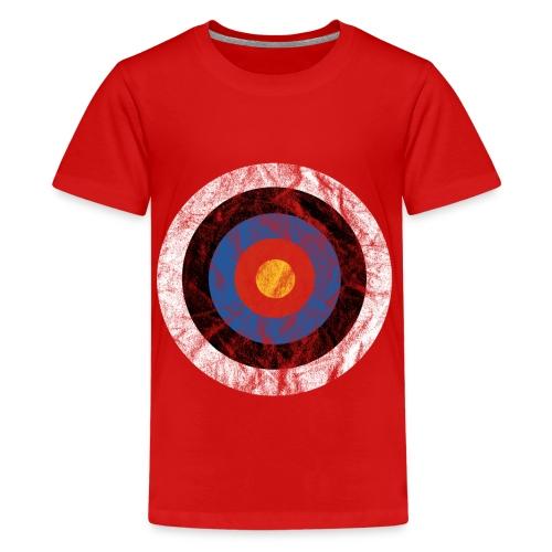 T-Shirt Bullseye Ziel Pfeil Bogen Archery Dart - Teenager Premium T-Shirt