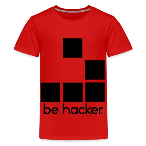 be_hacker-png - Maglietta Premium per ragazzi