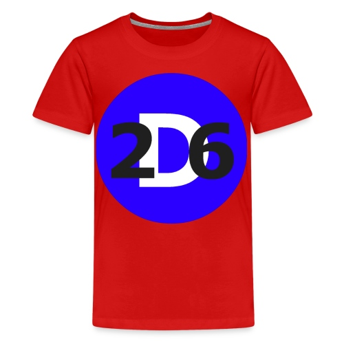 Dommie 26 original logo - Teenage Premium T-Shirt