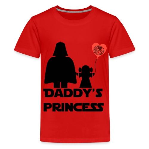 daddys princess - Camiseta premium adolescente