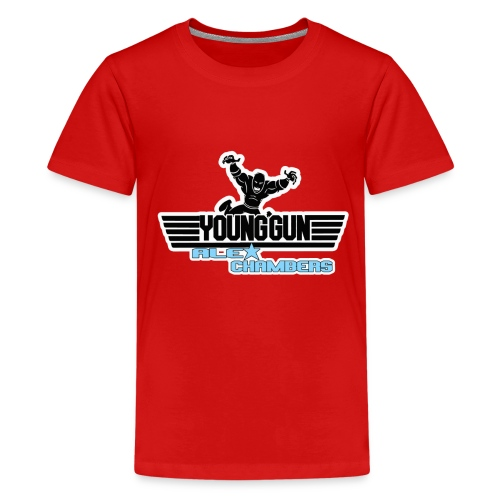 Young Gun Alex Chambers Official Products - Teenage Premium T-Shirt