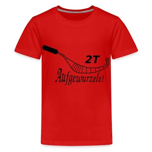 Auspuff 8 - Teenager Premium T-Shirt