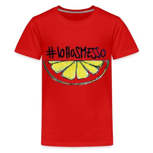 IoHoSmesso - Maglietta Premium per ragazzi