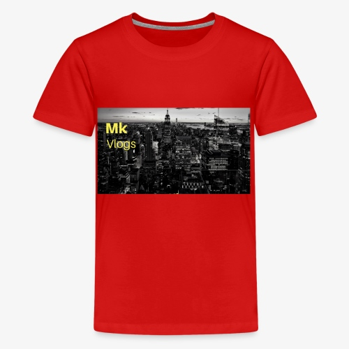 MK VLOGS 9 - Teenage Premium T-Shirt