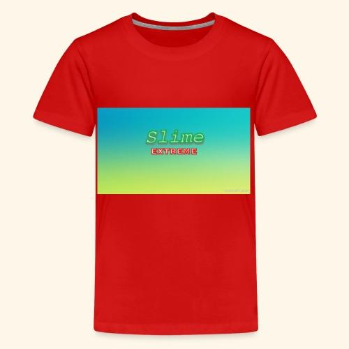 Slime addict - Teenage Premium T-Shirt
