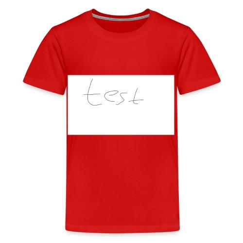 testshirt123 - Teenager Premium T-Shirt