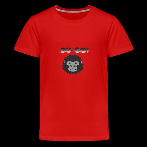 DU GORILLA - Teenager Premium T-Shirt