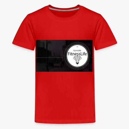 FitnessLife - T-shirt Premium Ado