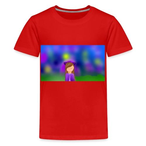 Werewolf Daisy design - Teenage Premium T-Shirt