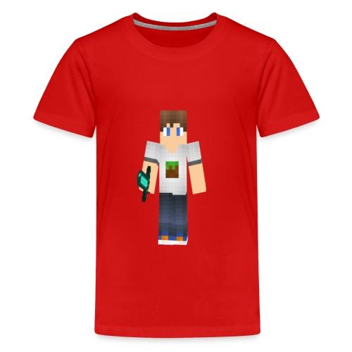 ViddeVis Herr Tröja 13år-upp - Premium-T-shirt tonåring