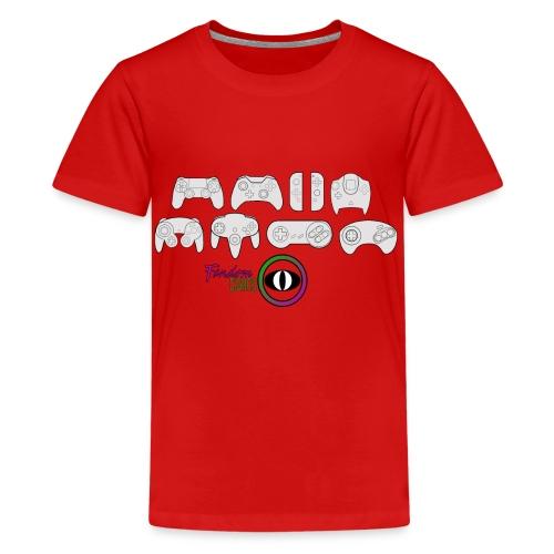 Fandom Curios Controller Design - Teenage Premium T-Shirt