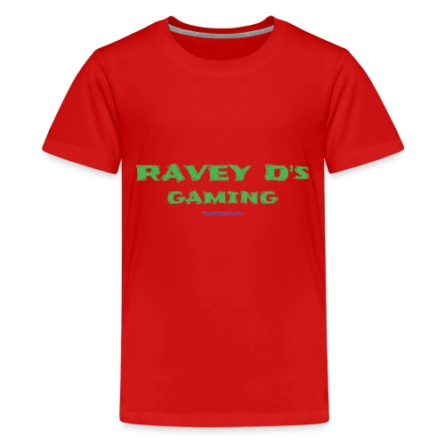 Ravey D's Gaming - Teenage Premium T-Shirt