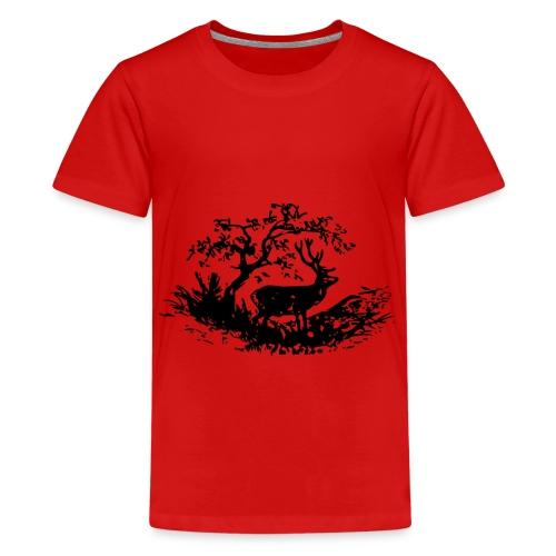Nature - Teenager Premium T-Shirt