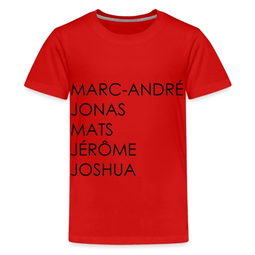 marc-andre - Teenager Premium T-Shirt