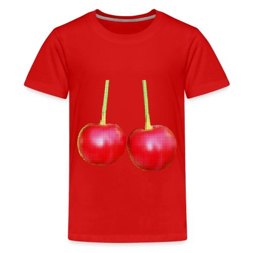 Kirschen - Teenager Premium T-Shirt